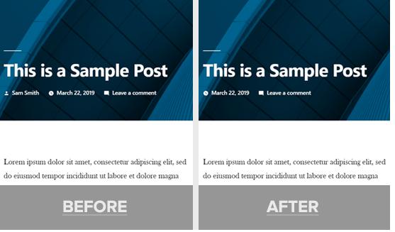 Remove Author Name Wordpress