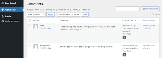 Allow Blog Users to Moderate Comments in WordPress